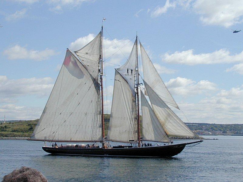 1000  images about Nova Scotia fishing schooner on Pinterest