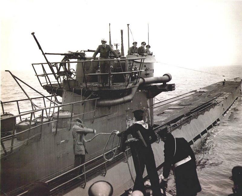 flying boat spotted U-889 U 889