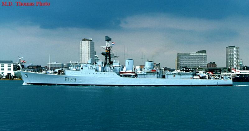 TRIBAL class frigate