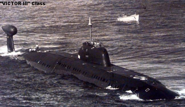 """الغواصات النووية الهجومية..للبحرية السوفييتية .""""الجزء الاول """" Vic3-05"""